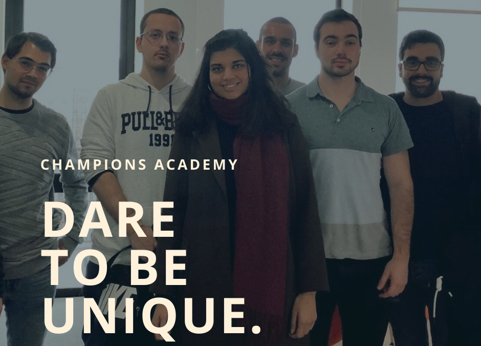 What does it mean to be a Champion? Polarising Academy has gone remote.