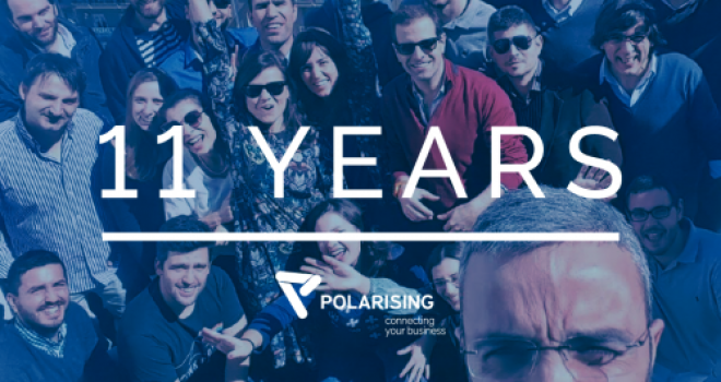 Happy 11th birthday, Polarising!