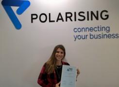 Polarising 24ª melhor empresa para trabalhar nas 100 maiores da Exame'16 | Polarising ranks 24th in the 100 best company's to work by Exame '16
